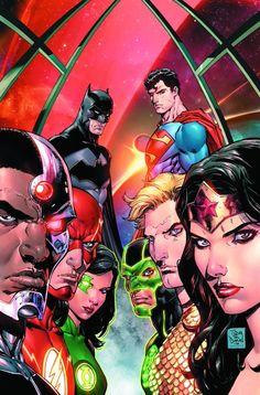 DC REBIRTH - JUSTICE LEAGUE Family Creative Teams | Newsarama.com