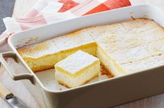 Blintz Brunch Bake Recipe - Kraft Recipes:Here's an airy and lemony alternative to the usual brunch bake—a fluffy, not-too-sweet blintz made with Neufchatel and ricotta cheese. Brunch Recipes, Breakfast Recipes, Dessert Recipes, Breakfast Dishes, Brunch Ideas, Breakfast Ideas, Breakfast Bake, Kraft Recipes, Kraft Foods
