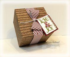 stampersblog: Giving Gifts #StampinUp #LoveandJoy