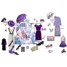 IN A DEEP PURPLE HAZE, created by nanniehatter on Polyvore