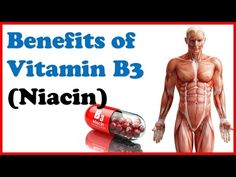 Amazing Health Benefits of Vitamin (Niacin) on our body! Transcript: Vitamin niacin is an essential vitamin for your body, and it is just one of the ei. Niacin B3, Vitamin B3 Niacin, Health Benefits, All Vitamins, Health Advice, Our Body, Mental Health, Bi Polar