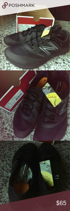 NWT MENS 14 US/13.5 UK NEW BALANCE MINIMUS NWT MENS 14 NEW BALANCE MINIMUS  Vibram comfort and high performance outsoles. Black training shoes, also great for everyday wear. Amazon price $99.00 Shipped without original box, as they will go into a priority box. New Balance Shoes Athletic Shoes