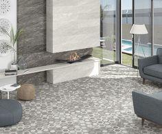 Hexagon Pieve Mosaic Multicolor | Porcelain tile | ARCANA Tiles - Arcana Cerámica | interior design | home decó inspiration | architecture