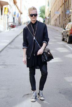 Stockholm  Lukas Wiss Jacket – Lager 157   T-shirt – Monki   Shirt 135a4c7cf5e2