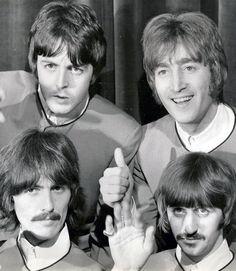 Beatles #JohnThumbsUP