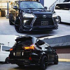 #mulpix All Black Wald Lexus LX 570. By : @wald_usa #lexus #lx570 #usa