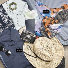 Llevar las prendas perfectas para irnos de vacaciones, no es tarea fácil, pero si son Ash, ¡es más divertido!