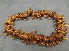 Antique solid brass Curtain Rod Rings Brass Drapery Large Eyelets /& Rollers