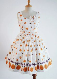 Sweet Tower In Paris With Cookies Sleeveless Lolita Dress