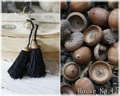 House No.12: Quastenliebe - DIY kleine Quasten mit Eichelköpfchen und Quasten aus Paketschur