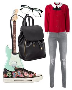 A fashion look from January 2017 featuring embellished blouse, destroyed skinny jeans and colorful sneakers. Browse and shop related looks. Colorful Sneakers, Valentino, Gucci, Skinny Jeans, Fashion Looks, Cool Stuff, School, Polyvore, Shopping