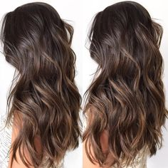 60 Chocolate Brown Hair Color Ideas for Brunettes Light Chocolate Ombre Highlights - Ombre Hair Color - Chocolate Brown Hair Color, Brown Ombre Hair, Brown Blonde Hair, Light Brown Hair, Ombre Hair Color, Brown Hair Colors, Chocolate Highlights, Chocolate Chocolate, Long Brunette Hair