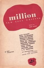 Million: New Left Writing. First Collection