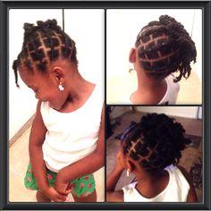 Natural Hair for little girls!!!