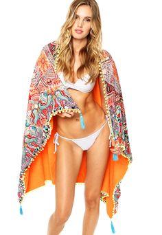 Quer barato? Canga/toalha menina sereia prainha multicolorida por R$ 129,90 - Loja Dafiti - Melhor preço é no QueroBarato!