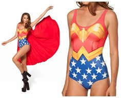 maillot wonder woman