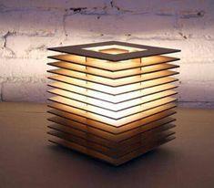 Cool Lighting, Lighting Design, Blitz Design, Deco Luminaire, Cardboard Furniture, Led Licht, Wood Lamps, Bedroom Lamps, Light Project