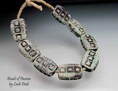 Handmade Glass Organic Beads of Passion SRA Leah от BeadsofPassion, $48.00