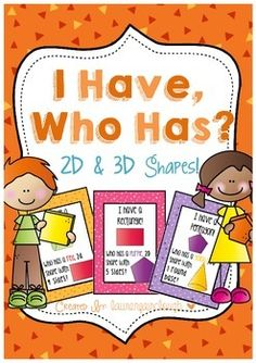A perfect way to motivate and engage your class! This game works perfectly as a motivator, hook or lesson closure! This game will get really students thinking about 2D and 3D shapes and their properties! Instead of just listing the name of the shape, each card has a short description, describing whether it 2D or 3D, the number of faces or sides and the colour to ensure students are all actively engaged, listening carefully and thinking about the properties of shapes!!