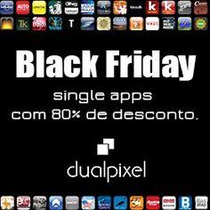 dualpixel na Black Friday. Produção de Single Apps com 80% de desconto. Publique seu conteúdo na maior loja de aplicativos do Mundo - Apple app store