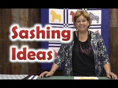 ▶ Quilt Sashing Ideas - Quilting Techniques - YouTube