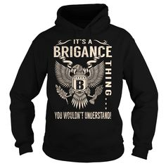 Its a BRIGANCE Thing You Wouldnt Understand - Last Name, Surname T-Shirt (Eagle)