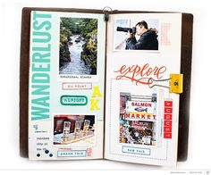 Alaska Travel Journal by MarieL at @studio_calico
