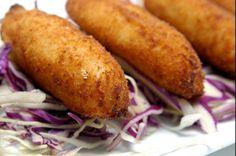 Receta de croquetas de atún que les gustara a toda la familia. Preparadas con atún de lata, en una salsa bechamel empanizada, quedan deliciosas!