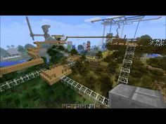 Minecraft - Raw III - 24-6-2012 (HD) (low volume audio) - A look around the 'Retropolis' world