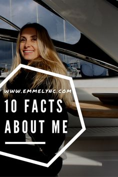 Photo, boat, yacht, selfie, on a boat, about me, self portrait, facts about me, emmelync
