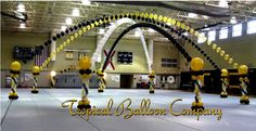 balloon arch and column - Google Search