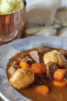 Beef and Guinness Stew with Dumplings