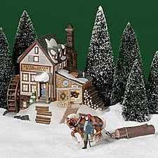 Department / Dept 56 Otter Creek Sawmill New England Village Series - In Origina