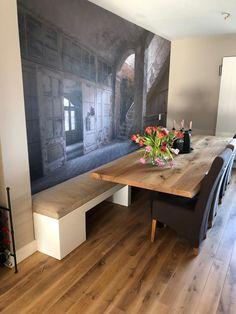 Decoration, Corner Desk, Dining Bench, House Design, Living Room, Random Things, Kitchens, Furniture, Home Decor