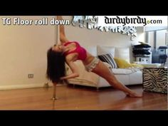 ▶ Vid #28: TG Floor Roll Down Tutorial. All level pole move - YouTube