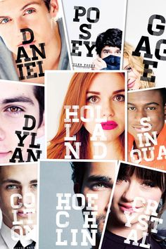 Collage teen wolf cast!