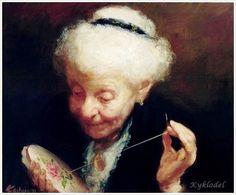 Качкин Александр Борисович (Украина Канада, 1955) Вышивание