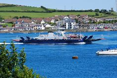 The ferry travels between Strangford and Portaferry