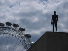 Anthony Gormley 'Event Horizon' at the Hayward Gallery, 2007. c by Iris2002 - London
