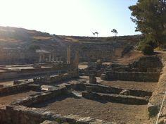 Auf Rhodos in Griechenland