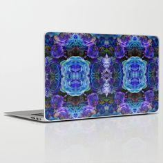 Midnight Rose Laptop & iPad Skin