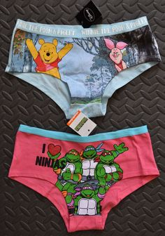 LADIES BRIEFS DISNEY EX UK STORE WOMENS UNDERWEAR KNICKERS BOXER SHORT UK 6-20