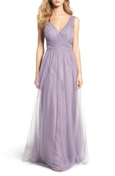 Main Image - Hayley Paige Occasions Illusion Gown