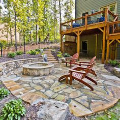 TONS of fire pit ideas!