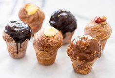 If you're in two minds between whether you want a croissant or a muffin for morning tea (or breakfast), you need not be conflicted any longer. You might need to travel some distance, but San Francisco bakery Mr Holmes Bakehouse's cruffins will put an end to your indecisiveness. Australian pastry chef and co-owner Ry Stephen caught Bay Area bakers by surprise when he opened Mr Holmes in November .