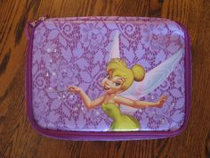 Tinker Bell pin trading bag.  I need this.