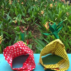 It's -almost- Friday. Hang in there working people. In the meantime, the pineapple and strawberry hats attempt to camouflage among the red and yellow heliconia hybrid flowers in the background. #catsofinstagram #cats_of_instagram #purrfectpetgifts #cathats #hatsforcats #madhatter #etsyshop #etsyorder #etsyseller #etsyworld #etsyusa #etsyfinds #etsymadelocal #etsypromo #etsyprepromo #etsysellersofinstagram #etsygifts #etsystyle #etsyhunter #sgcrafters  #handmadesg #handmade #cats_of_instagram…