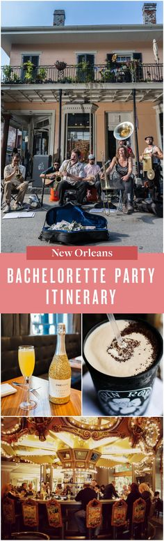 For a bachelorette party worthy of the history books, a trip to New Orleans is the perfect plan. Bachelorette Itinerary, New Orleans Bachelorette, Bachelorette Favors, Bachelorette Party Decorations, Wedding Signs, Wedding Decor, New Orleans Travel, Personalized Bridesmaid Gifts, History Books