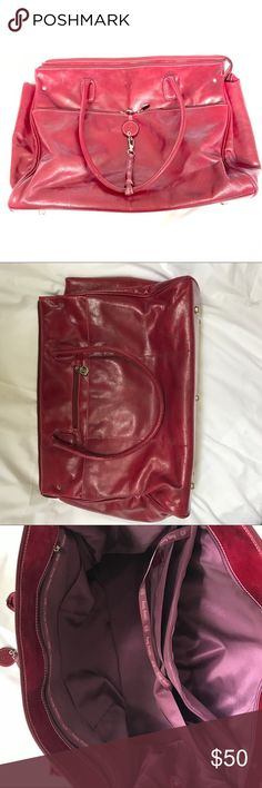 Large Red Merlot Leather Travel or Diaper Bag To be Written. Bundle to save 20% on your order and I love offers! Bags Travel Bags