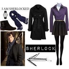 """""""Sherlock Look"""" by power-of-the-pineapple on Polyvore"""